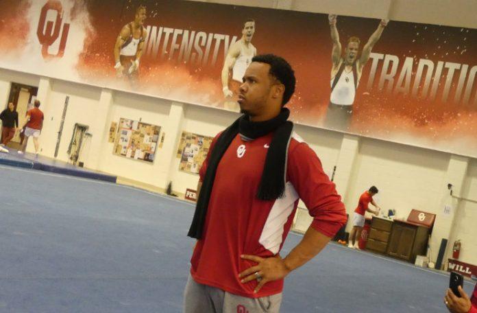 Taqiy Abdullah-Simmons Oklahoma Gymnastics