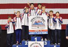 Cypress Academy of Gymnastics Boys Team