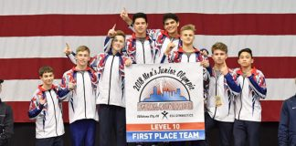 Cypress Academy of Gymnastics Boys Team