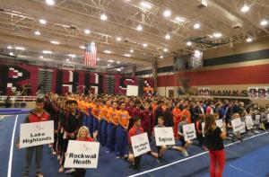 2018 Texas High School Gymnastics Championship Teams