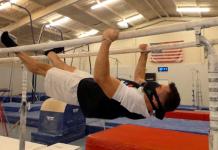 USA Gymnastics National Team Colin Van Wicklen