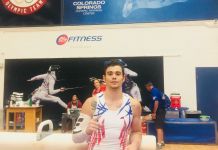 Colin Van Wicklen Wins All-Around at National Qualifier