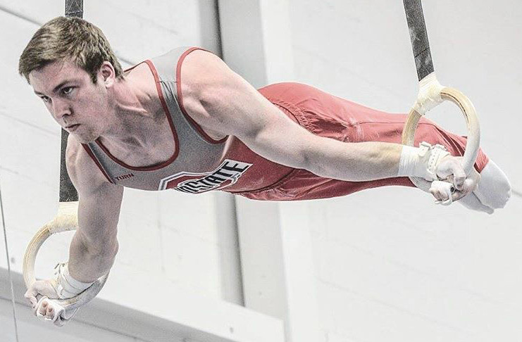 Seth Delbridge Ohio State Gymnastics