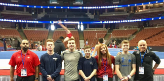 Women coaches in men's gymnastics
