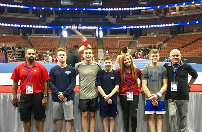 Women coaches in men's gymnastics