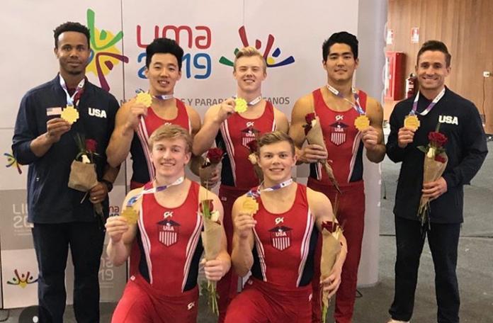 US Men gymnastics Strike Gold at 2018 Pan American Championships