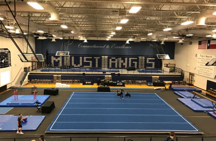 Justin James, Kingwood High School Gymnastics Texas Contenders