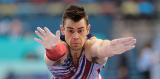 Colin Van Wicklen Advances to Vault Finals at Baku World Cup