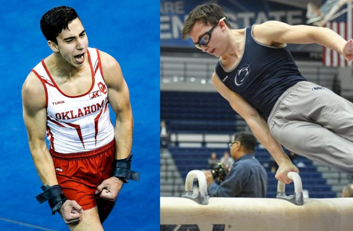 The 10 is back to College Men's Gymnastics