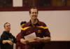 "Mike Burns, Minnesota Gymnastics Head Coach ""Flashback Friday"" 10.0 Meet"
