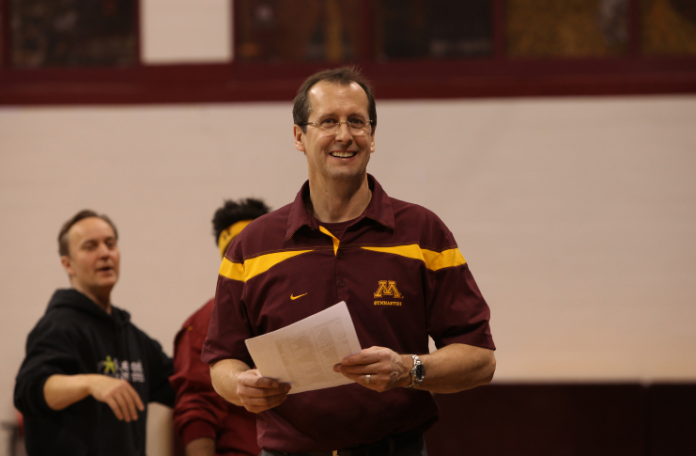 Mike Burns, Minnesota Gymnastics Head Coach